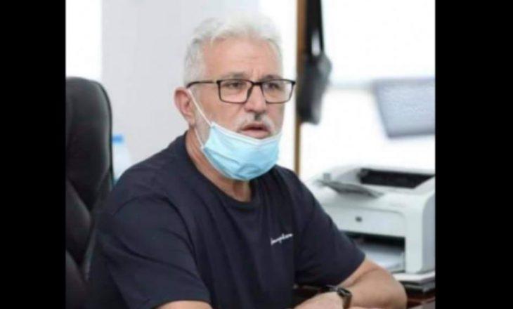 Vdes ish-drejtori i Spitalit të Gjilanit, Nysret Hajrullahu
