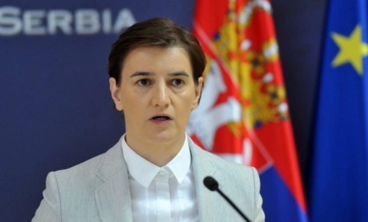 """Kryeministrja e Serbisë """"provokohet"""" kur Vjosa Osmani kërkon që ta njohin Kosovën pesë vendet e BE-së"""