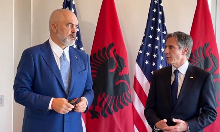 Blinken pas takimit me Ramën: Partneriteti SHBA-Shqipëri po bëhet edhe më i thellë