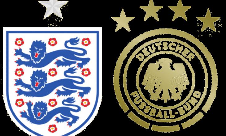 Angli – Gjermani: Formacionet zyrtare