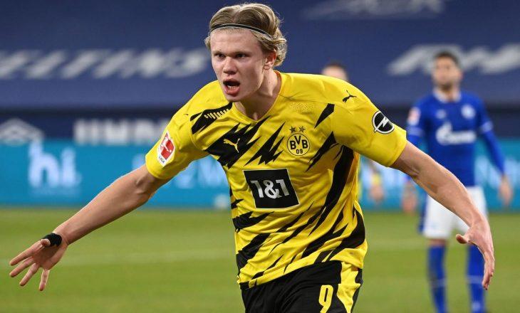 Haaland mungon në stërvitjet e Dortmund, lojtari gjendet në Angli