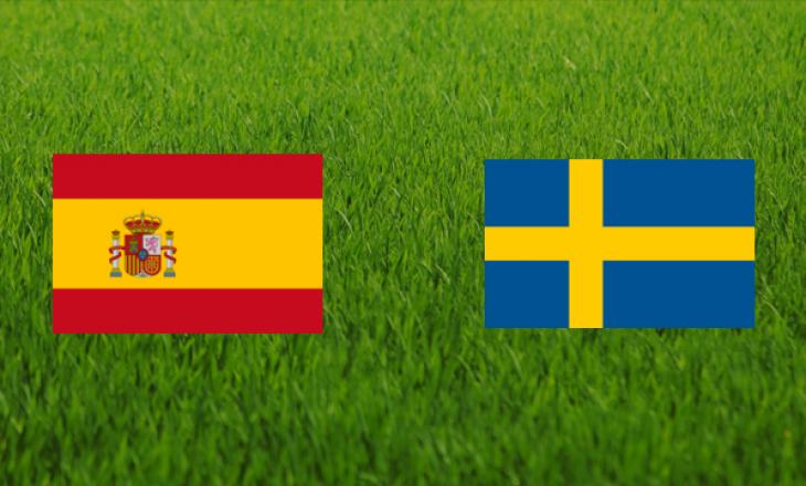 Spanjë – Suedi: Formacionet zyrtare