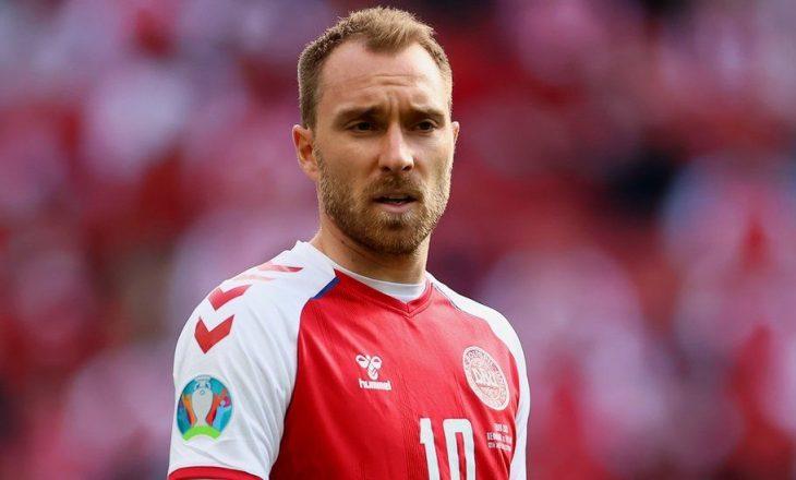 Danimarka fitoi – reagon Eriksen