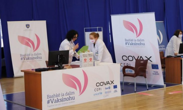Rreth 20 mijë qytetarë kanë marrë dozën e dytë të vaksinës kundër COVID-19