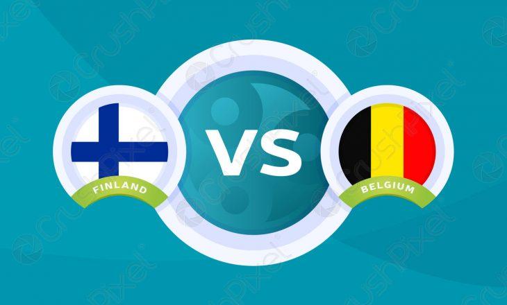 Belgjikë – Finland: Formacionet zyrtare