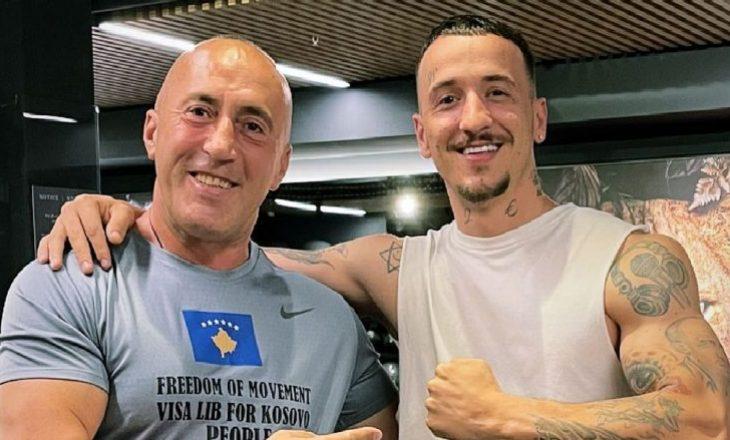 """""""Dy tigra"""", Getinjon e Ramush Haradinajn i bën bashkë palestra"""