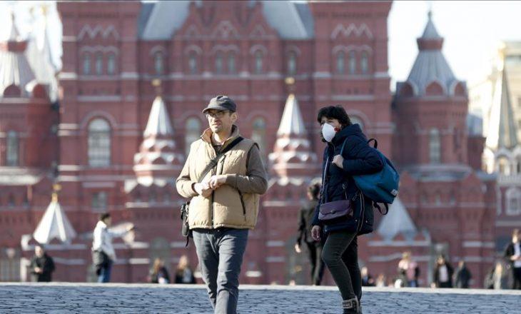 Varianti Delta i COVID-19 godet Rusinë