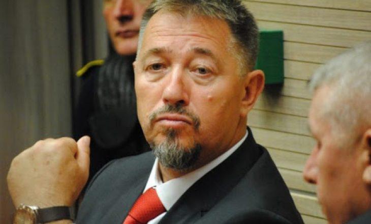 Apeli ia vërteton Lushtakut dënimin me 2 mijë euro gjobë për kanosjen e avokatit Gazmend Halilaj