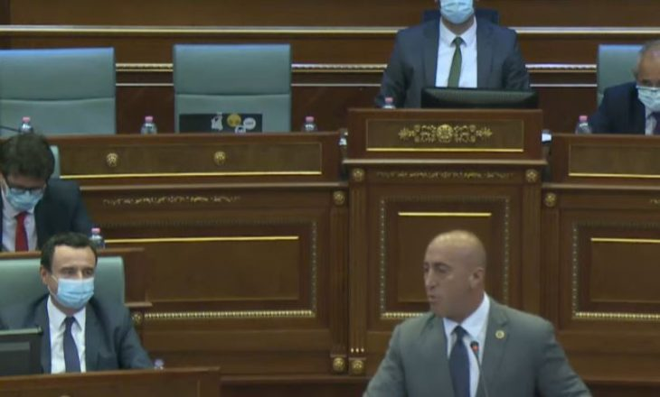 Haradinaj – Kurtit:  A po fshehesh prej Serbisë a prej Amerikës?