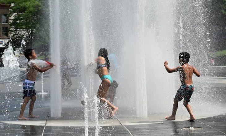 Kanada regjistron temperaturën më të lartë