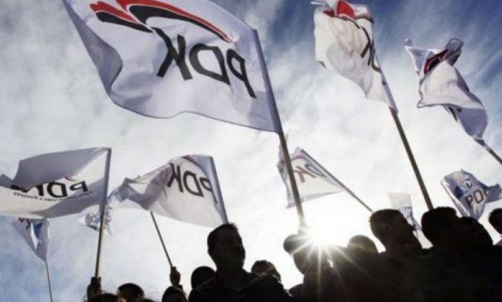 Lladrovci & Ajazi – dallimi ndërmjet qendrës e degës së PDK-së në Drenas