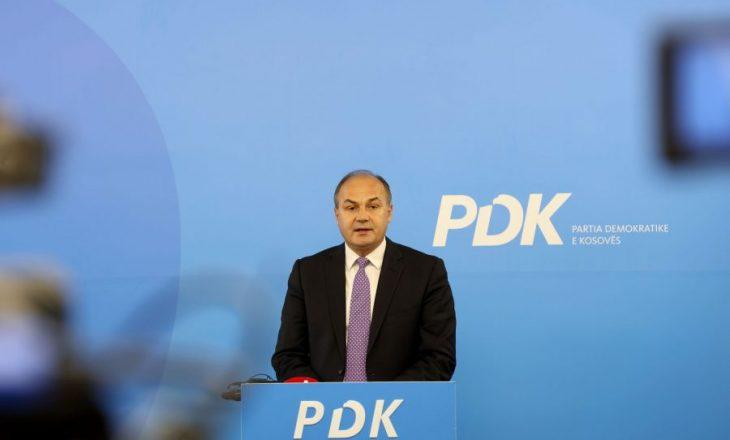 Hoxhaj: S'ka garë midis nesh, nga e hëna mendoj nëse do të kandidojë për kryetar të PDK-së