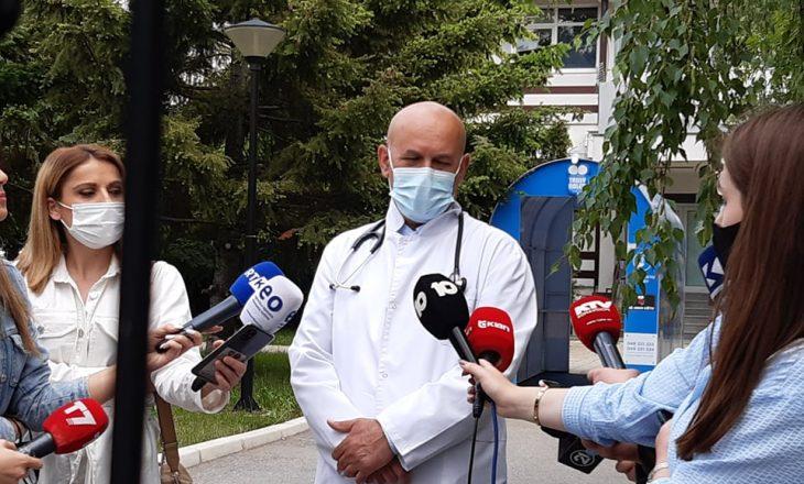 Gjendja e pacientit të infektuar me variantin afrikan është stabile