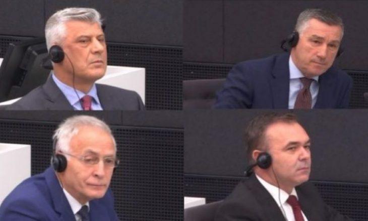 """""""Prokuroria e Speciales me qasje armiqësore ndaj Thaçit dhe të tjerëve, procedurat po stërgjaten"""""""