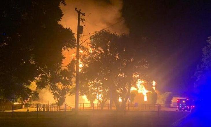 Policia e Kanadasë po heton shkaktimin e zjarreve që dogjën dy kisha katolike
