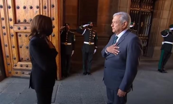 Presidenti meksikan ia ngatërron emrin dhe postin Kamala Harrisit (VIDEO)