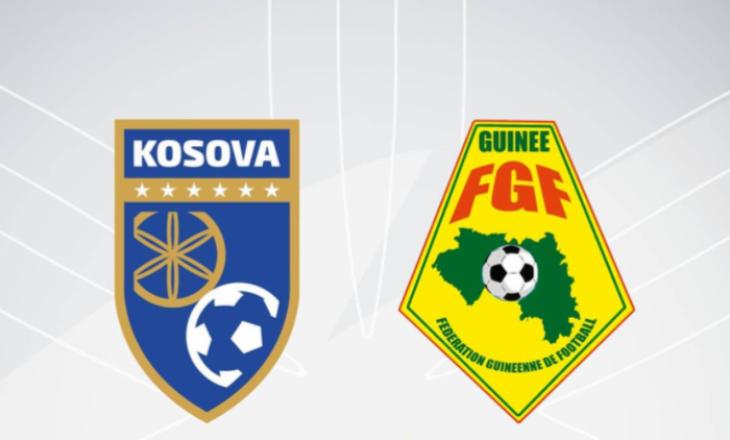 Kosova-Guinea: Formacionet zyrtare