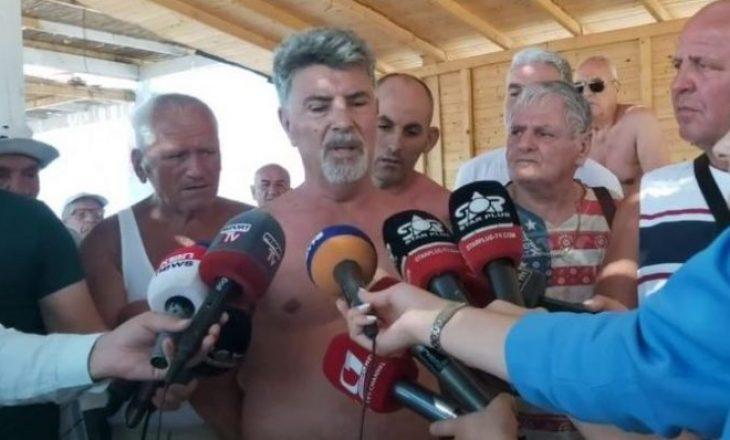 44-vjeçari u mbyt në plazhin e Velipojës, protestojnë qytetarët nga Kosova