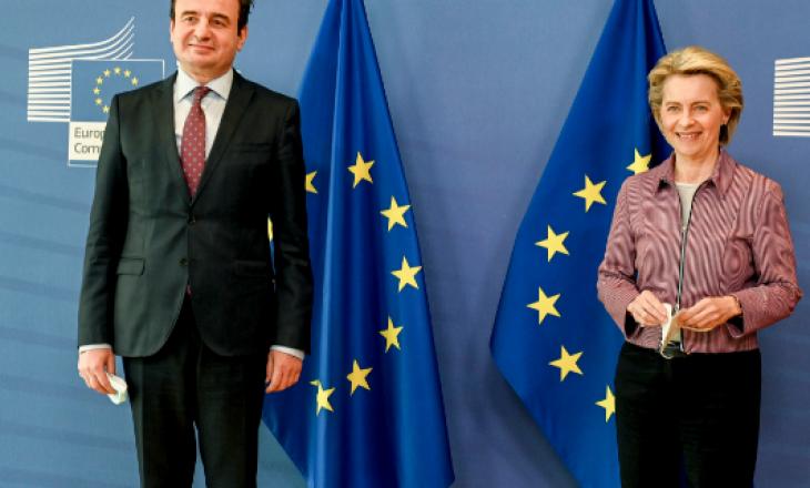 Kurti pranon letër urimi nga presidentja e Komisionit Evropian, shpresë për liberalizimin e vizave