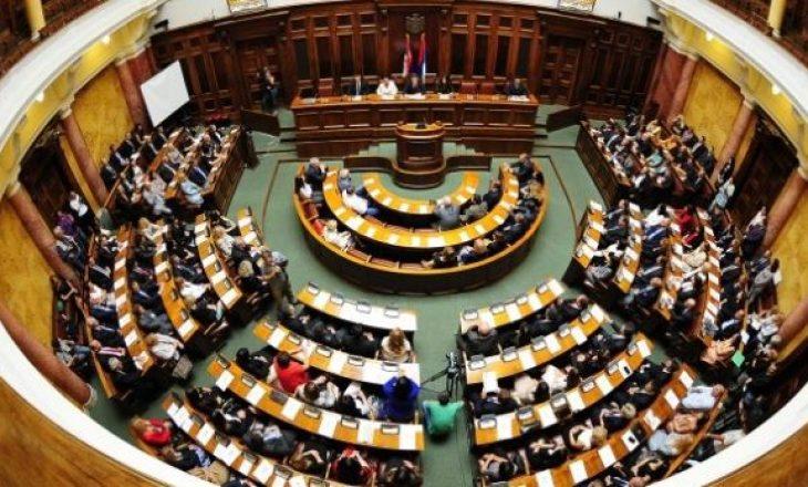 Kuvendi i Serbisë me seancë të jashtëzakonshme për Kosovën
