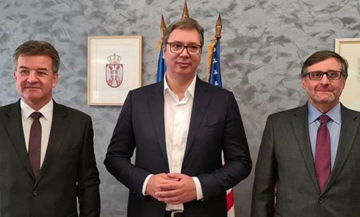 Vuçiq: Besoj në mundësinë e arritjes së një zgjidhjeje kompromisi me Kosovën