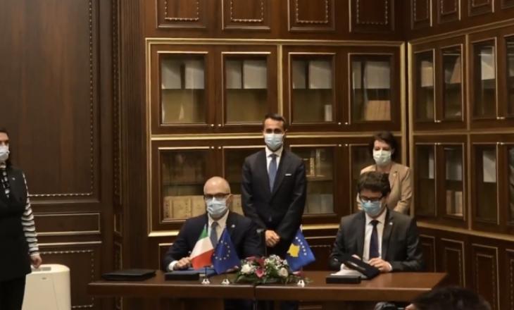 Kosova dhe Italia nënshkruajnë marrëveshje për eliminim të tatimit të dyfishtë