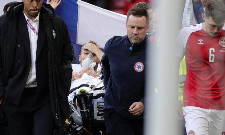 Christian Eriksen lirohet nga spitali