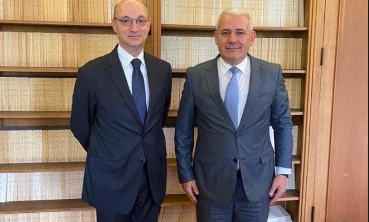 Sveçla vizitë zyrtare në Francë – diskutohet për liberalizimin e vizave dhe luftën kundër krimit e korrupsionit