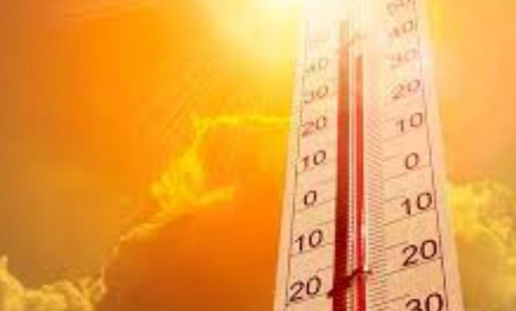 37 gradë temperaturat maksimale sot