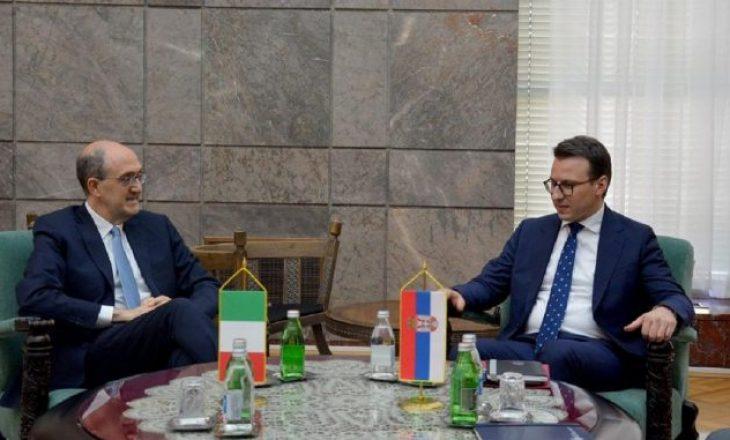 Petkoviq shfrytëzon takimin me ambasadorin italian për të bërë propagandë