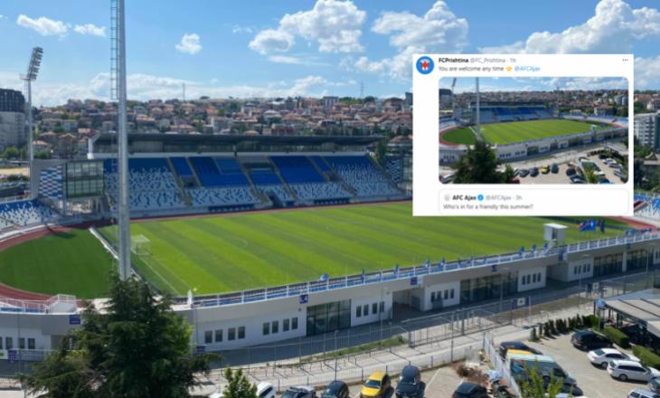 Prishtina i ofron miqësore klubit të njohur evropian