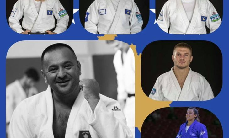 """Kosova do të përfaqësohet nga pesë xhudistë në Lojërat Olimpike """"Tokyo 2020"""""""