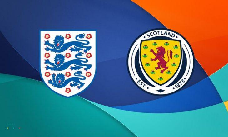 Angli – Skoci: Formacionet zyrtare