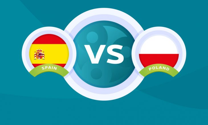 Spanja – Poloni: Formacionet zyrtare