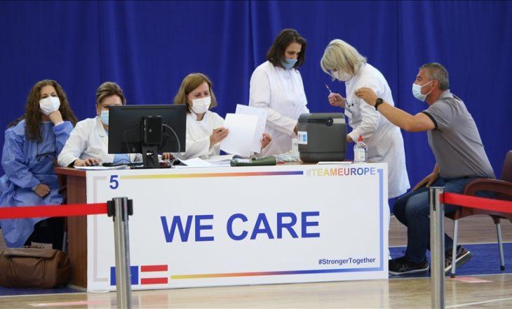 99 mijë persona të vaksinuar kundër COVID-19 në Kosovë