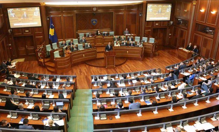 Më 24 qershor Kuvendi mblidhet në seancë plenare