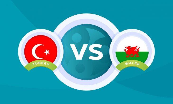 Turqia – Uellsi: Formacionet zyrtare