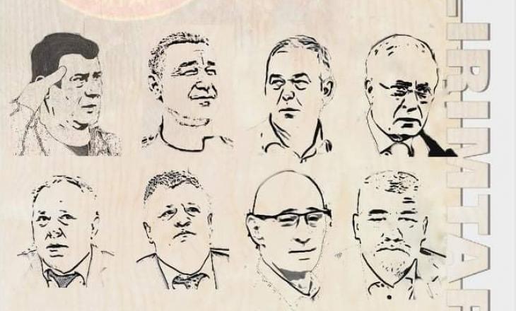 OVL-UÇK proteston përmes artin në mbrojtje të çlirimtarëve