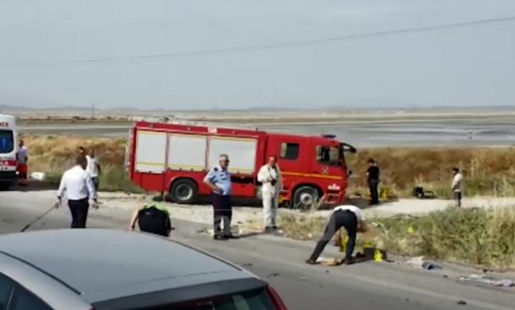 Katër anëtarë të një familje vdesin në aksident në Vlorë