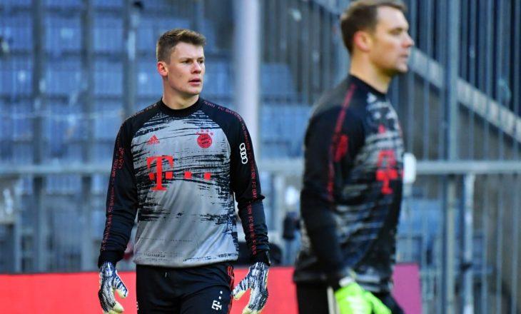 Portier i Bayern Munchen kalon te Monaco