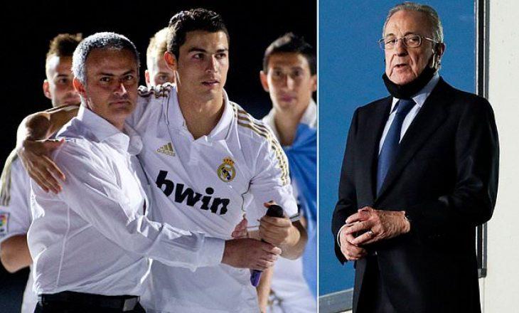 Vjen skandali i radhës nga Perez, kësaj here për Ronaldon dhe Mourinhon