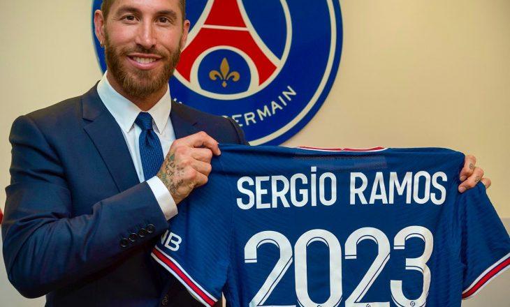 PSG zyrtarizon transferimin e Sergio Ramos