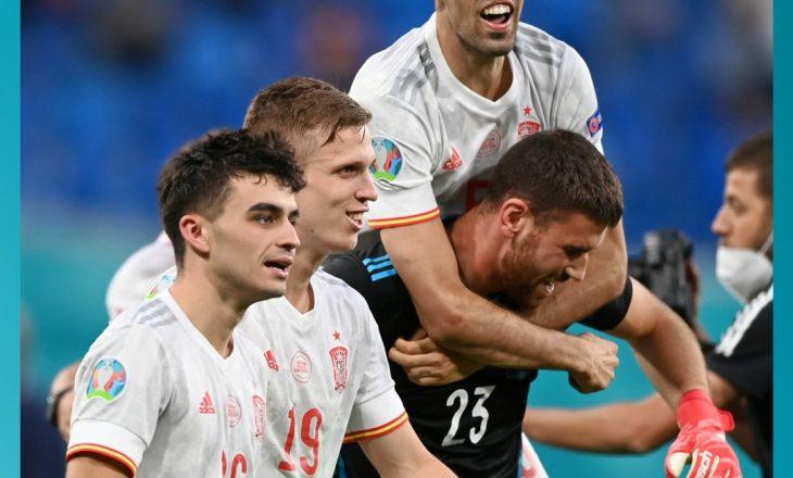 Spanja është gjysëmfinalisti i parë pas fitores ndaj Zvicrës