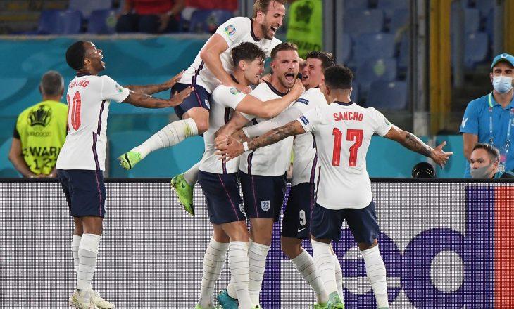Anglia është gjysëmfinalisti i fundit, mposht lehtësisht Ukrainën