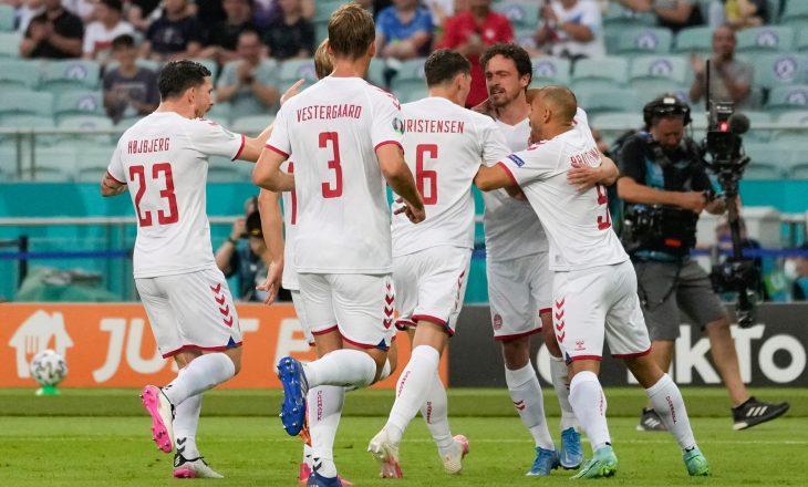 Danimarka mposht Çekinë, siguron gjysëmfinalen