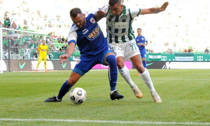 Prishtina pëson keq nga Ferencvaros, humb me rezultat të thellë