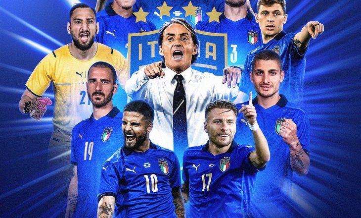 Italia merr fronin e të parit të Evropës