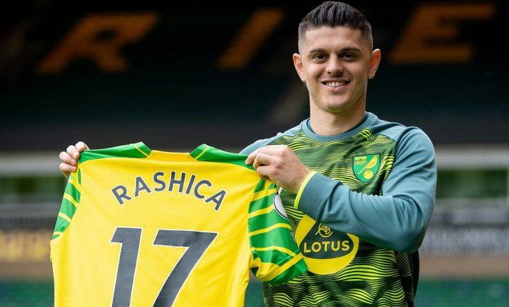 Milot Rashica prezantohet te Norwich City