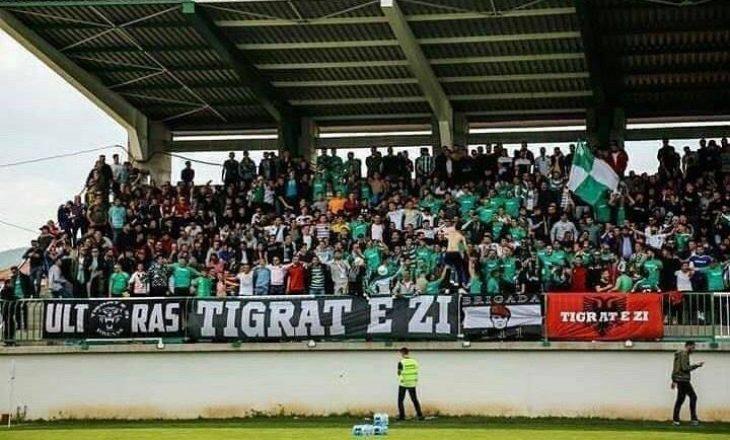 """Tifo-grupi """"Tigrat"""" me kërkesë zyrtare për Feronikelin, kërkojnë shkarkimin e Ragip Veselit"""