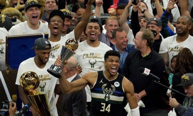 Milwaukee Buck shpallet kampion i NBA pas 50 vitesh